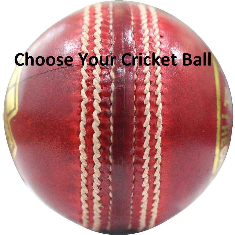 Choose your Cricket Ball