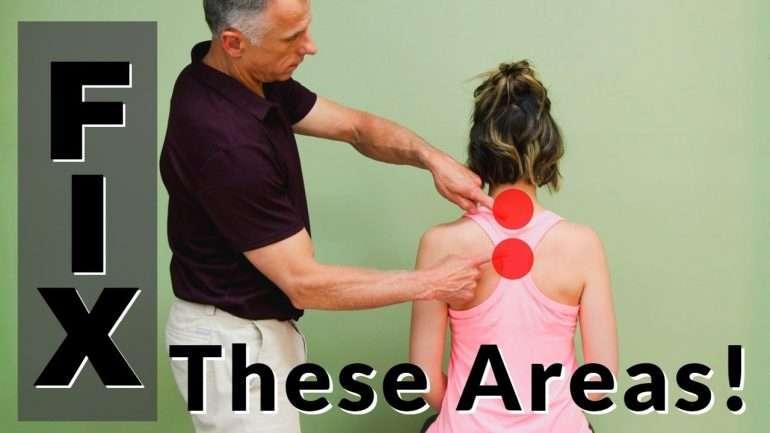 chiropractic Neck and Shoulder Blade Pain Relief